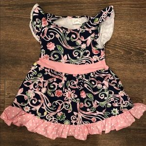 Other - Girls precious pink floral dress